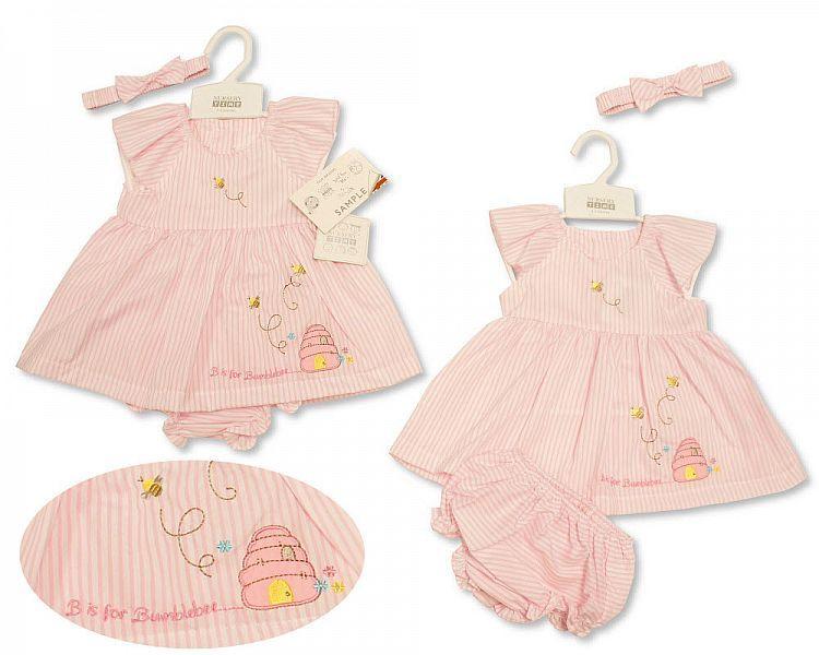 *BIS2169, Baby Dress 0-9 Months - Bumblebee £4.45.  PK12...