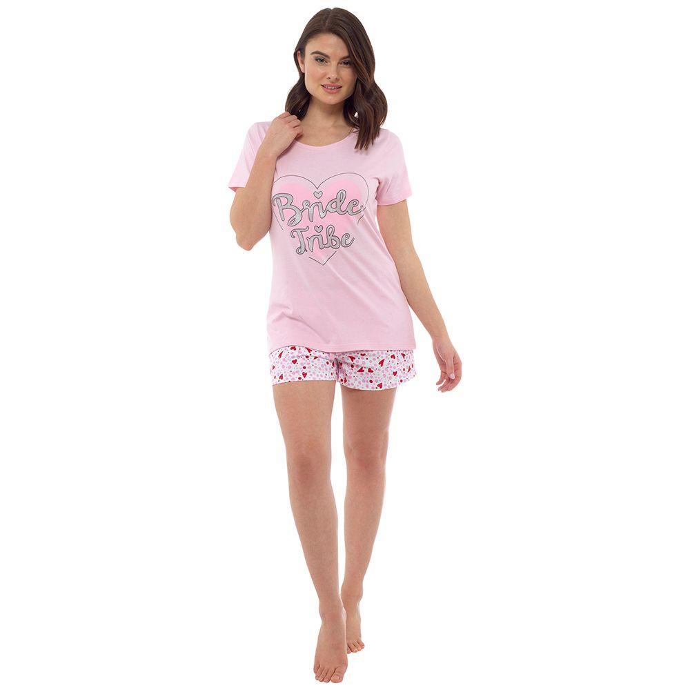 LN858, Ladies Bride Tribe Shortie Pyjama £5.60.  pk18...