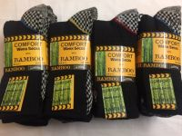 M1872, Mens 3 in a pack bamboo sole work socks £2.08.  1 dozen...