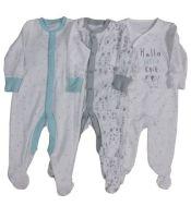 *BAB0090, Ex Major High Street Baby Sleepsuit £1.75. PK24...
