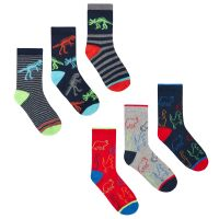 42B591, Boys 3 in a pack cotton rich design socks £1.20.  24pks...