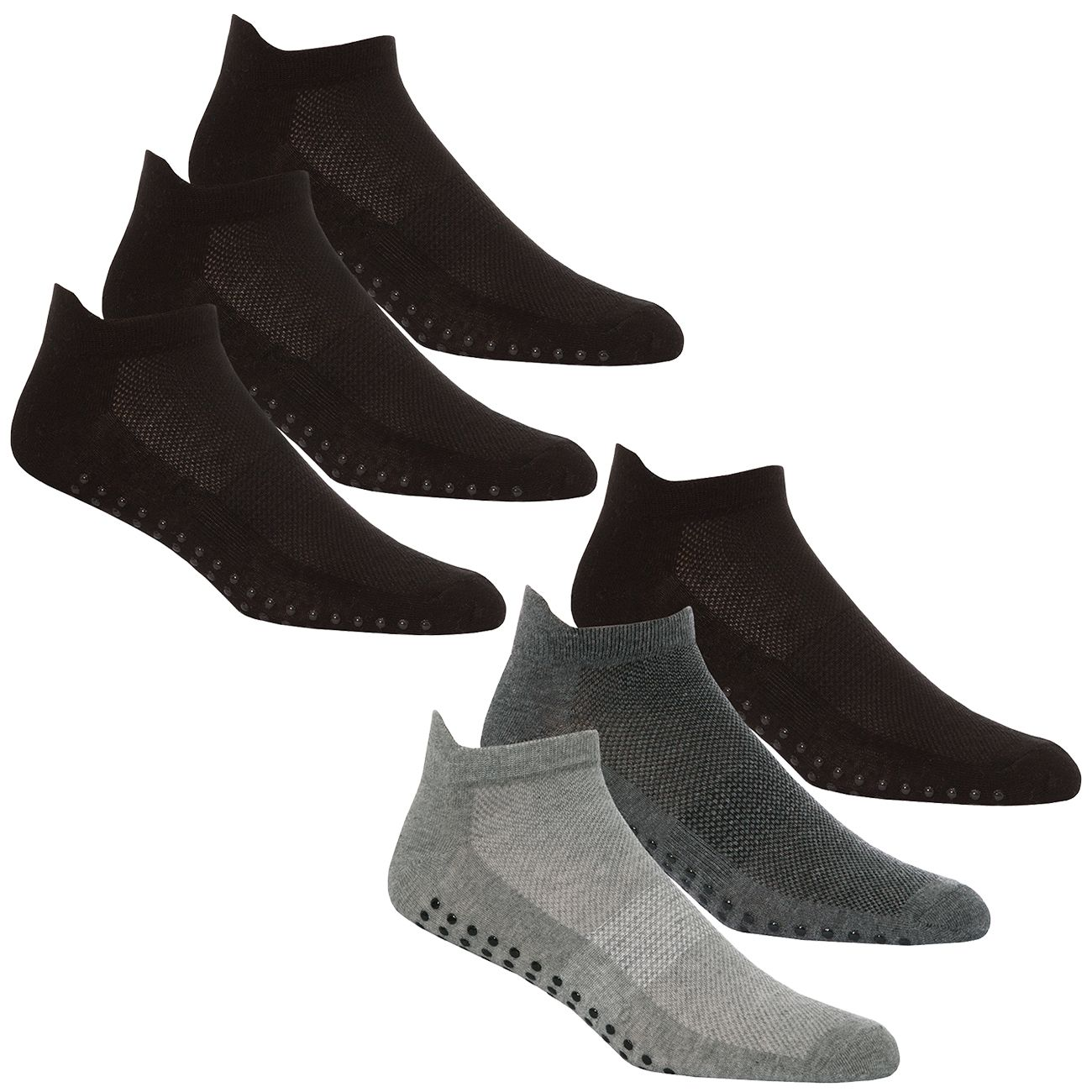 40B502, Mens 3 in a pack Sports Trainer Liner Socks £1.50.  12pks...