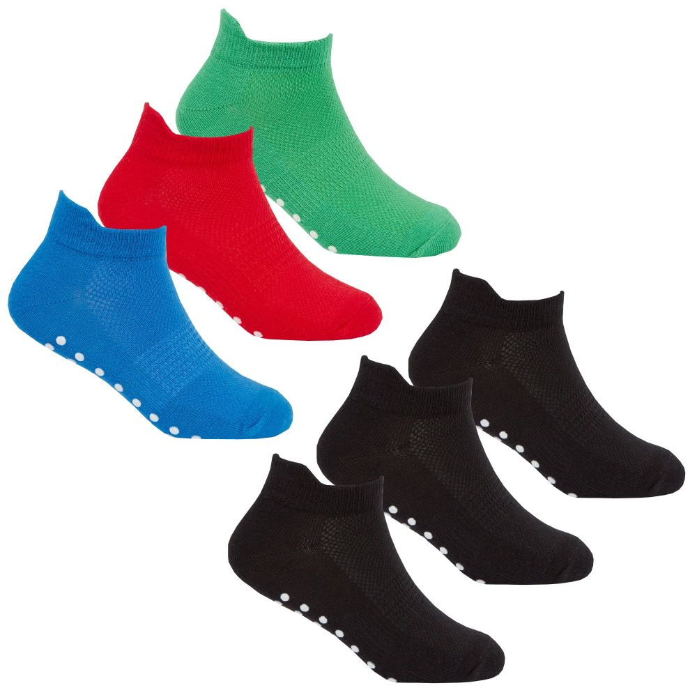 42B567, Boys 3 in a pack Sports Trainer Liner Socks £1.20.  48pks..