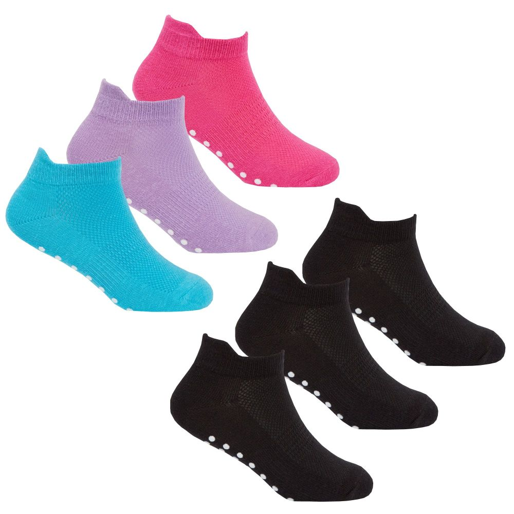 43B570, Girls 3 in a pack Sports Trainer Liner Socks £1.20.  48pks..
