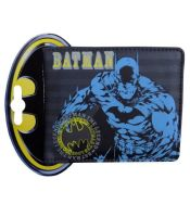 MAC0089, Ex Major High Street Men's Batman Character Wallet £3.50.  PK12..