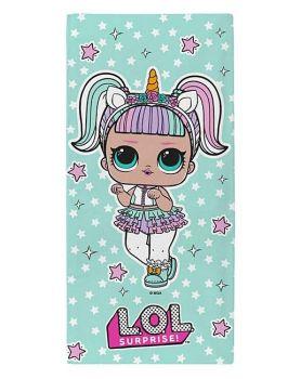 """*LOL91, Official """"L.O.L Surprise""""""""Unicorn"""" beach towel £5.25. pk6...."""