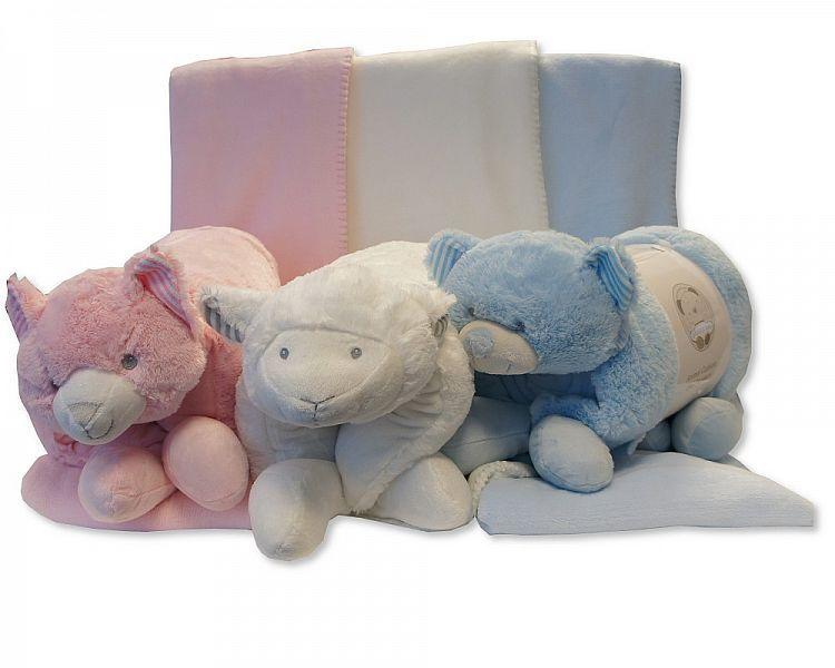 GP914, Plush Animal Cushion/Blanket £8.35.  PK6..