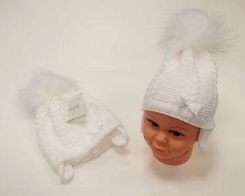 BW456W, Baby Pom-Pom Hat with Cotton Lining £5.95.  PK6...