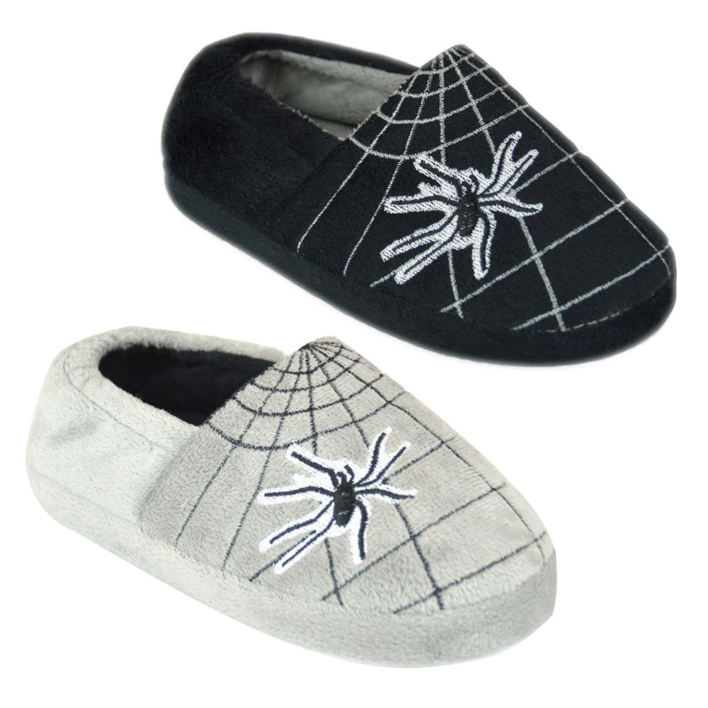 FT1532, Boys Spider Web Sliipper £2.85.  pk24...