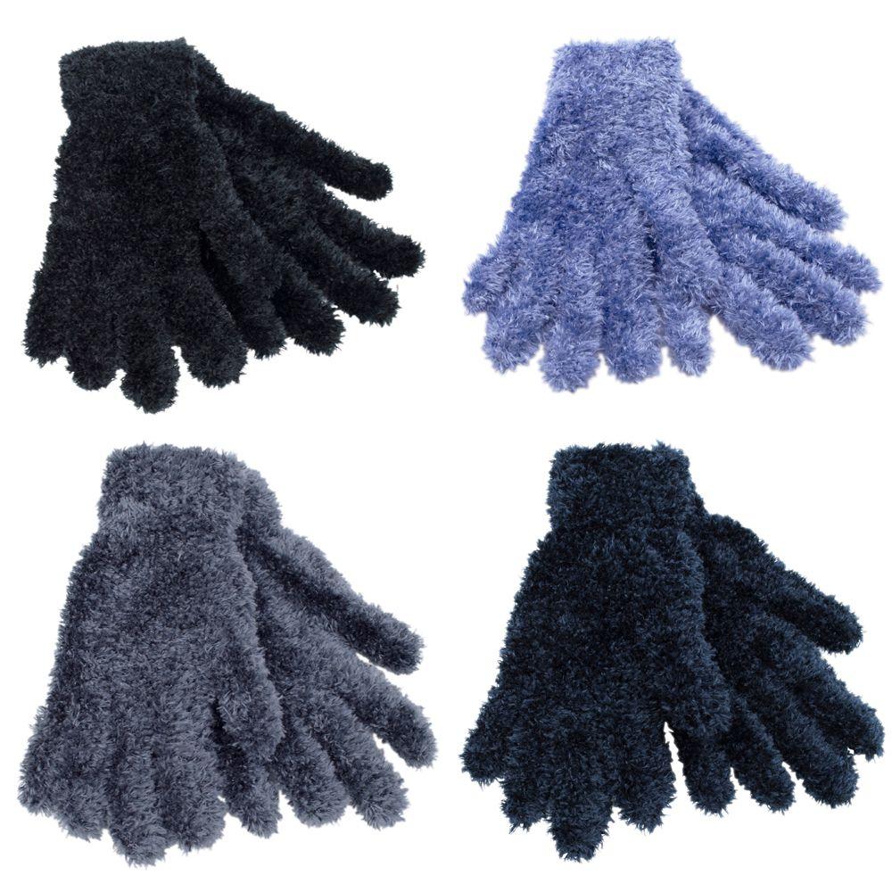 GL051, Ladies feather gloves 1 dozen..