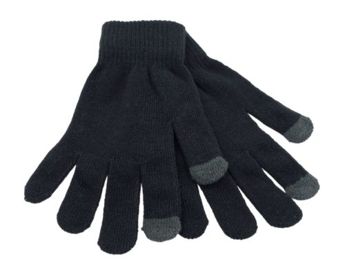 GL351, Mens thermal phone touch gloves £0.65.  pk12...