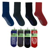 SK163, Mens slipper socks, 1 dozen...