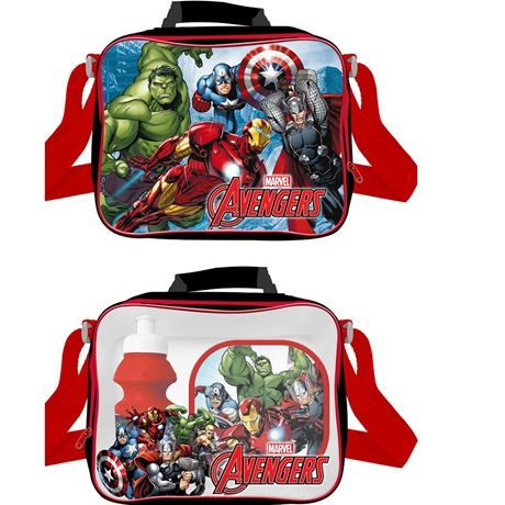 Code:7192, Official Marvel Avengers 3 pcs lunch bag set £3.65.  pk24...