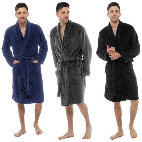 HT501C, Mens Fleece Gown £8.25. pk15..