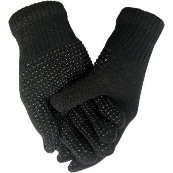 GLM81, Mens magic stretch gripper gloves, 1 dozen....