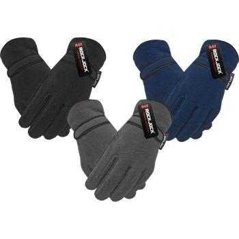 "GLA172, ""RockJock"" Brand Kids Fleece Gloves with R40 Thermal Insulation £1.55.  pk12.."