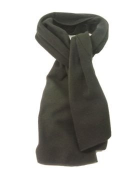 SC508, Mens fleece scarf in black £1.25. PK12...