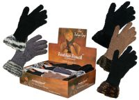"GLF113, Ladies ""Boutique"" gloves £10.80 a dozen. 2 dozen in a display box......"
