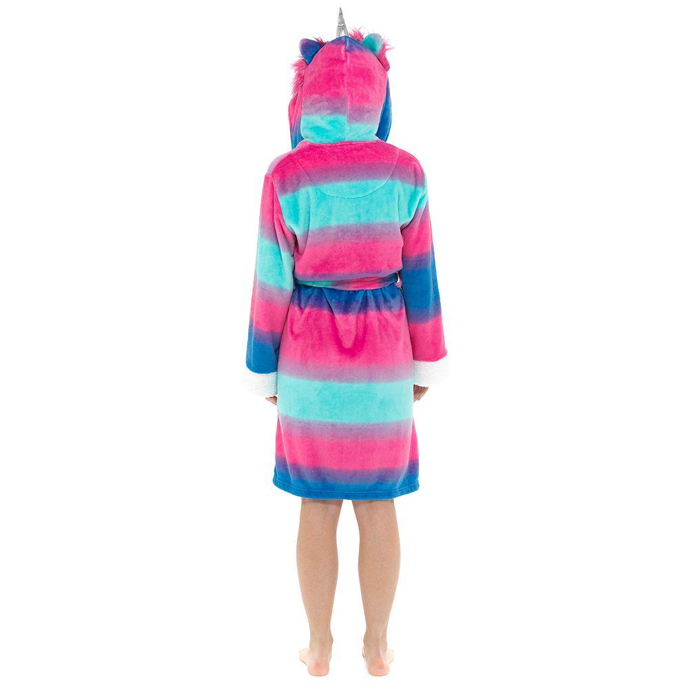 LN1009, Ladies Unicorn Hooded Gown £11.95.  pk12...