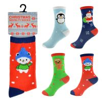 "SK301A, Kids ""Christmas"" novelty socks £6.25 a dozen.  2 dozen..."
