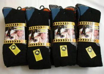 """SE0084, Mens """"Functional"""" work socks £7.20 a dozen.  12 dozen..."""