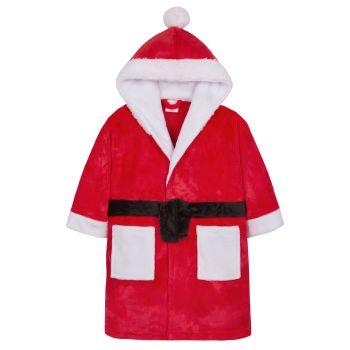 """18C481, """"Mini Kidz"""" Brand Kids Novelty Robe- Santa £6.95.  pk24..."""