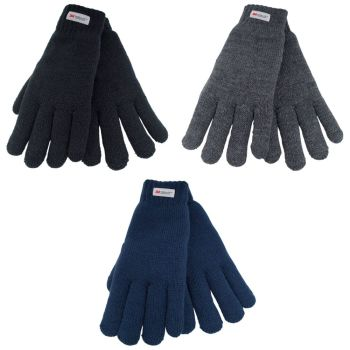 GL137, Ladies Thinsulate Knitted Gloves £1.80.   pk12..
