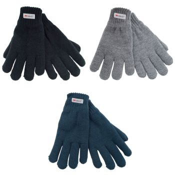 GL064, Kids thinsulate knitted gloves £1.85.  pk12..