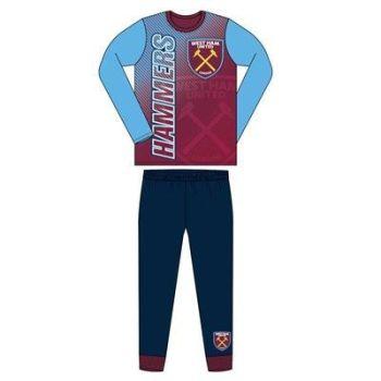 """**Code:31268, Official """"West Ham"""" Boys Pyjama £4.40. pk18..."""