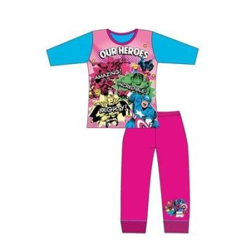 "Code:31324, Official ""Marvel"" Girls Pyjama £4.40. pk18..."