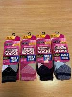 RH8521, Ladies Argyle Design Thermal Insulated Socks £1.75.  pk12..