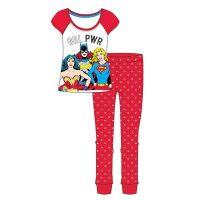 """Code:31799, Official """"DC Superheroes"""" Ladies Pyjama £5.95. pk24.."""