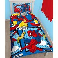 """*V279, Official """"Spiderman""""""""Webhead"""" Reversible Single Duvet Cover Set £7.95. pk3...."""