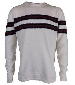 *MKW0081, Ex N-xt Mens Stripe Jumper £3.50.  PK12..