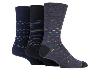 """SOMRJ565, Mens """"Gentle Grip"""" design socks.  1 dozen.."""