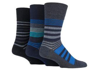 """SOMRJ566, Mens """"Gentle Grip"""" design socks.  1 dozen.."""