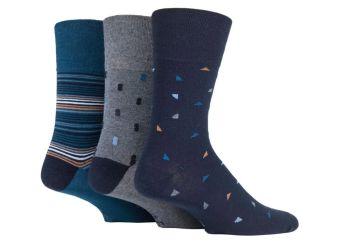 """SOMRJ567, Mens """"Gentle Grip"""" design socks.  1 dozen.."""