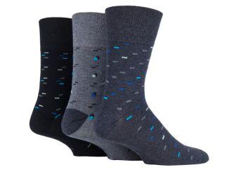 """SOMRJ569, Mens """"Gentle Grip"""" design socks.  1 dozen.."""