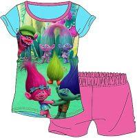 "*WH30081, Girls ""Trolls"" Shortie Pyjama (OUT OF STOCK) £3.50.  pk36..."