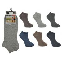 SL1008, Mens trainer socks in assorted colours.  1 dozen.....