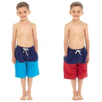 **LN147, Boys Colour Block Swim Short £3.90.  pk36...