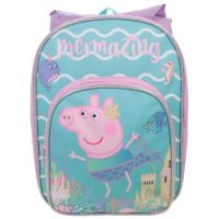 "*PEP1342, Official ""Peppa Pig"" Arch Backpack with Hood £6.25.  pk6..."