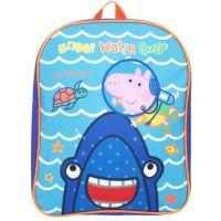 """**PEPPA1230, Official Peppa Pig """"George"""" Backpack £4.25.  pk6.."""