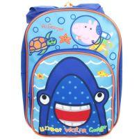 "**PEP1095, Official Peppa Pig ""George"" Backpack with Hood £6.25.  pk6..."