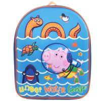 """*PEP1156, Official Peppa Pig """"George"""" EVA Backpack £5.50.  pk6..."""