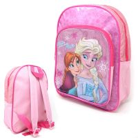 """*FROZ7854, Official """"Frozen 2"""" Deluxe Junior Backpack with Front Pocket (OUT OF STOCK) £3.85.  pk6.."""