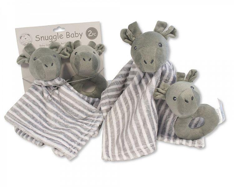 GP970, Baby Comforter and Rattle Set - Giraffe £4.50.  PK6....