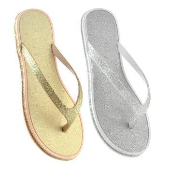 FT1461A, Ladies Glitter Sandal £2.60.   pk24...