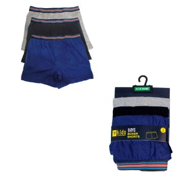 BR207, Boys 3 in a pack boxer shorts £2.35.  6 packs.....