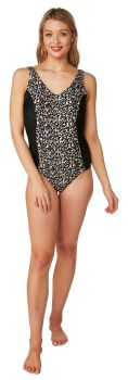"""OY22680, """"Oyster Bay"""" Brand Ladies Panel Swimsuit £8.95.  pk8..."""